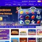 Cloud Casino Homepage