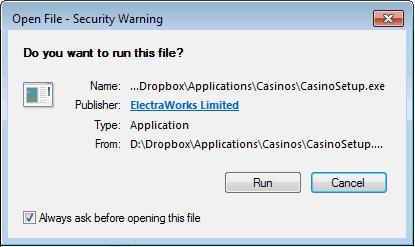 Installing The Casino App