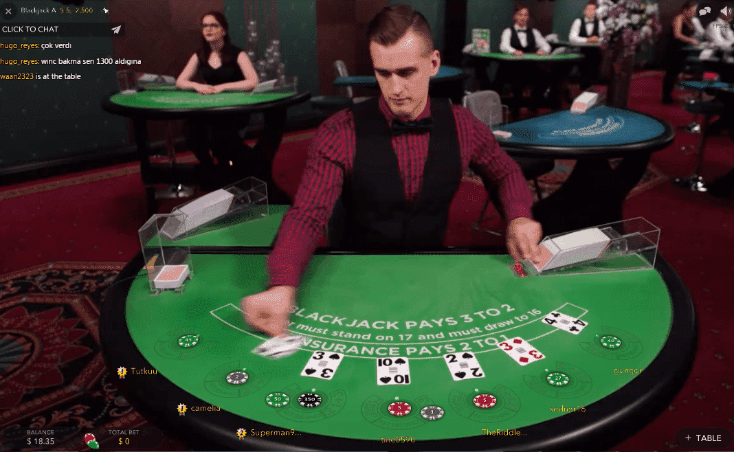 Number of Live Casino Players