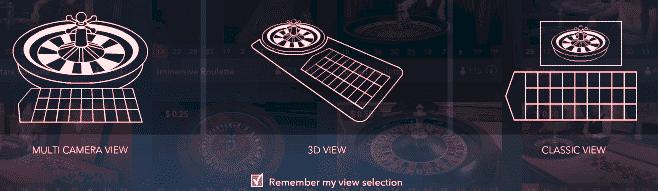 Live Casino Camera Views