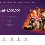 Bitcasino.io Frontpage