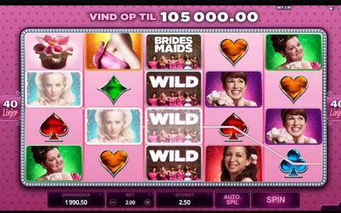 Brides Maids Slot Machine