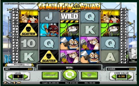 Demolition Squad Slots Game