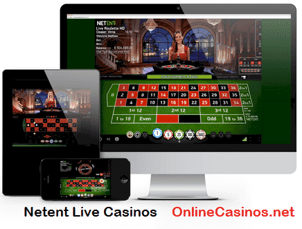 Netent Live Casino Play View