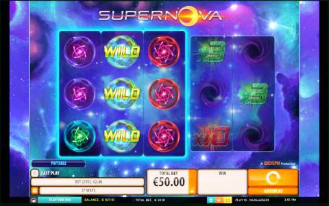 Supernova Game View