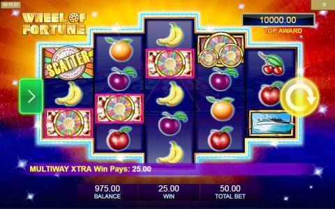 Wheel of Fortune Triple Extreme Spin Slots Game