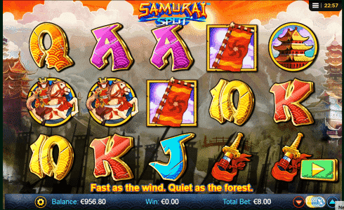 Samurai Split Slot Machine