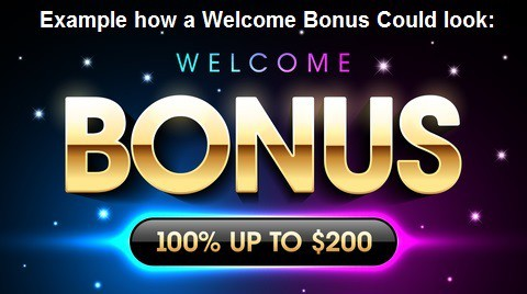 Example of Online Casino Welcome Bonus