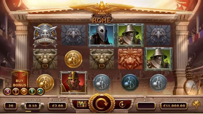 Champions of Rome Slot screenshot big