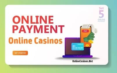 online casino payment methods icon