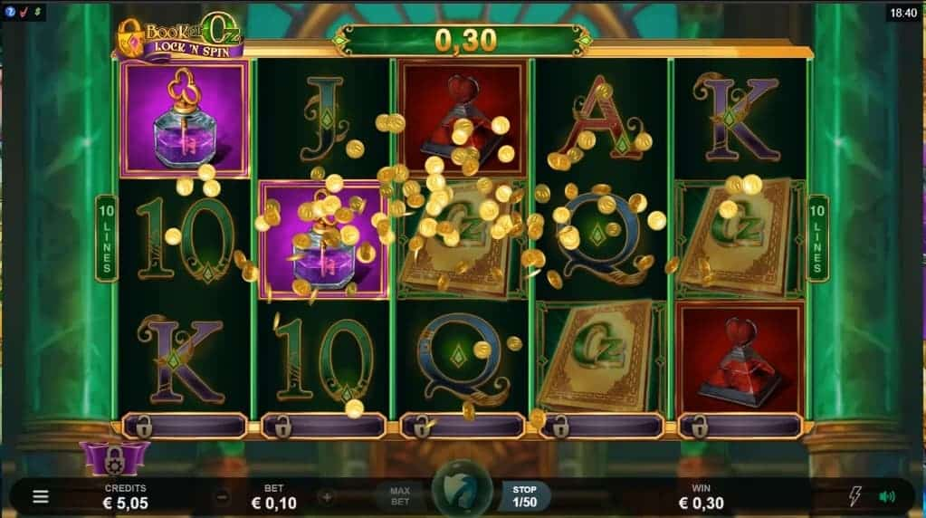 Spiele Book Of Oz Lock N Spin - Video Slots Online