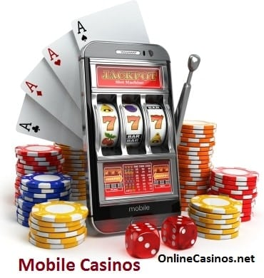 Showing a Mobile Casino