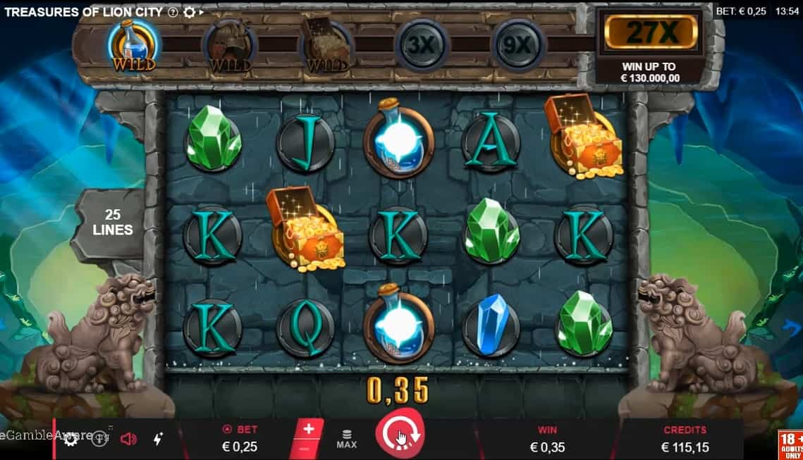 Spiele Treasures Of Lion City - Video Slots Online