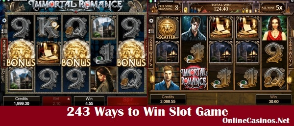 Immortal Romance 243 Ways to Win Online Slot Game