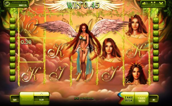 3D Fairy Tale Slot Machine Game View