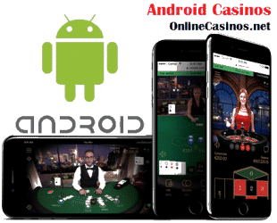 Android Casinos and Android Logo