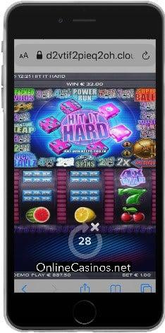 Classic Slot Game Hit it Hard ScreenShot