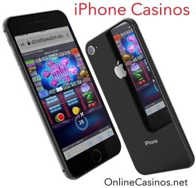 iPhone Casinos Showing a Slot Game