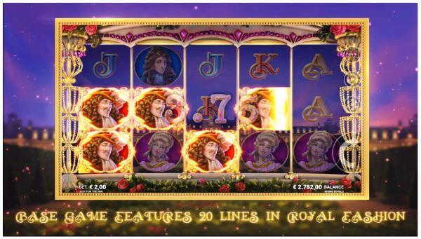 Multi Payline Slot Machine Rising Royal