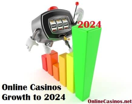 Showing Online Casinos Growth to 2024