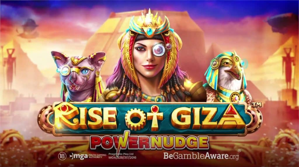 Rise of Giza PowerNudge Online Slot