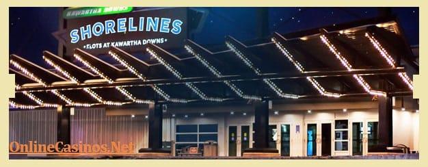 Shorelines Casino - Kawartha Downs View