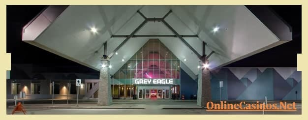 Grey Eagle Resort and Casino View