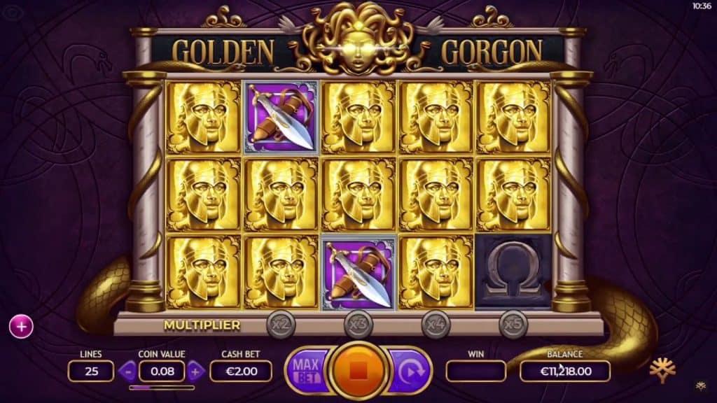 Golden Gorgon Online Slot