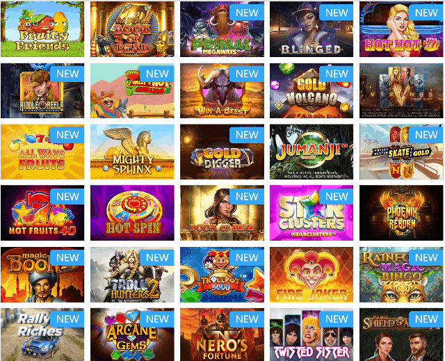 Featured Games at Mr Play Casino