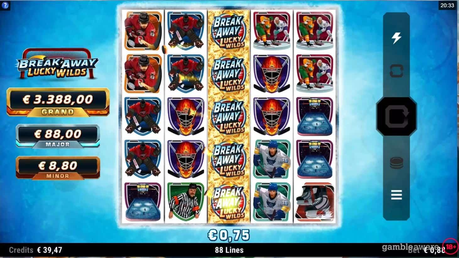 Break Away Lucky Wilds Slot Free Play