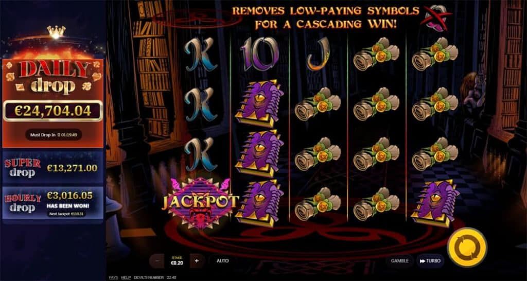 Devils Number Online Slot Daily Drop jackpot View