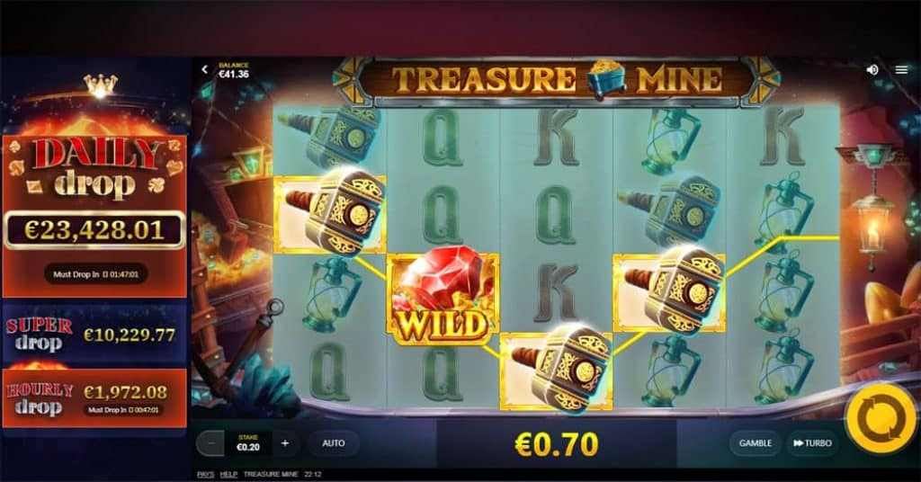Treasure Mine online slot View