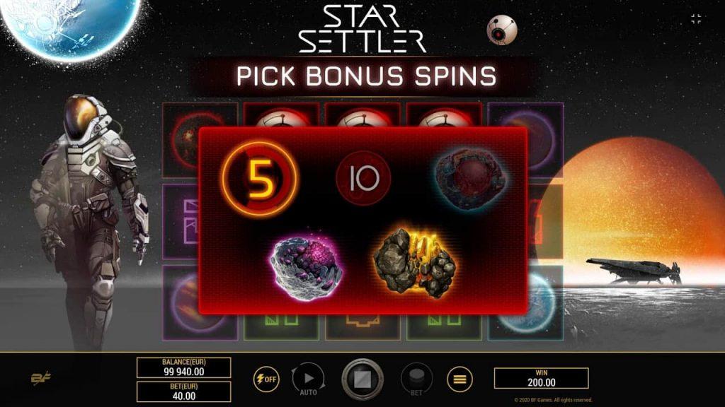 Star Settler Online Slot