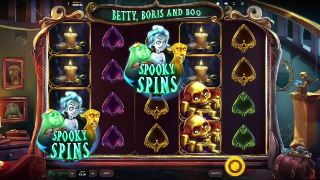 Betty, Boris And Boo Online Slot