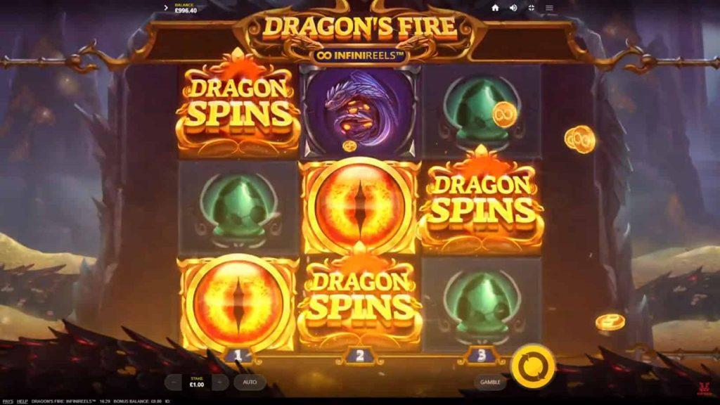 Dragon's Fire: INFINIREELS™ Online Slot