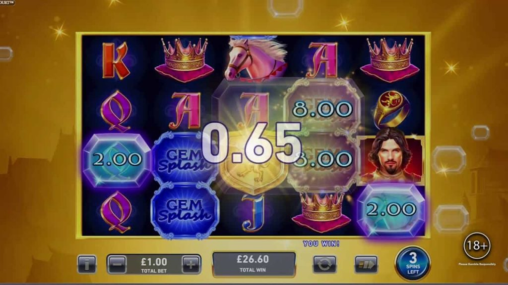 Kings Court Gem Splash Online Slot
