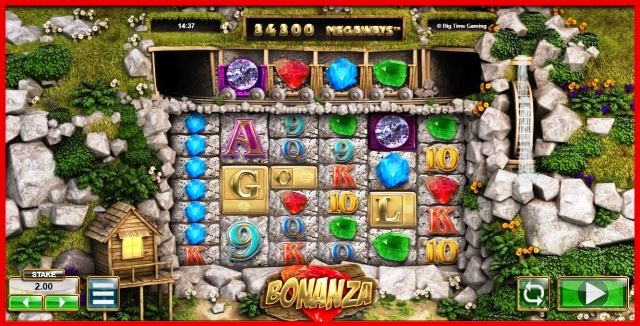 Bonanza Slot Machine View