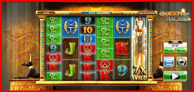 Queen of Riches Megaways High Volatility Slots View