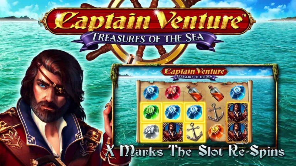 Captain Venture™: Treasures of the Sea Online Slot