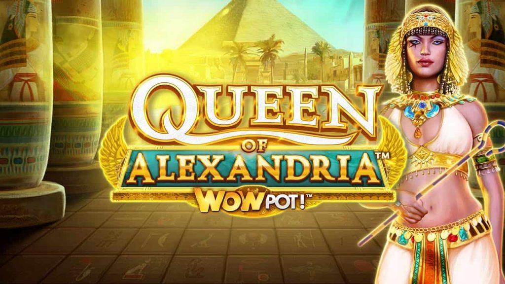 Queen of Alexandria™ WowPot Online Slot