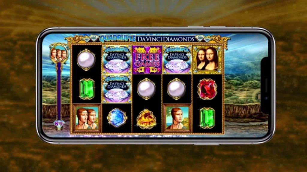 Quadruple Da Vinci Diamonds Online Slot