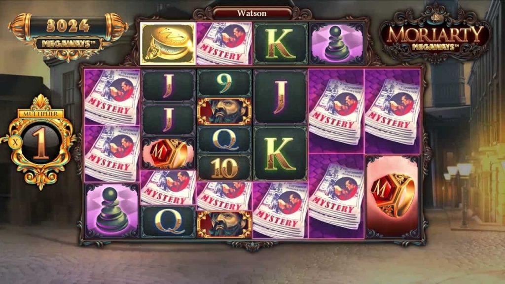 Moriarty Megaways™ Online Slot