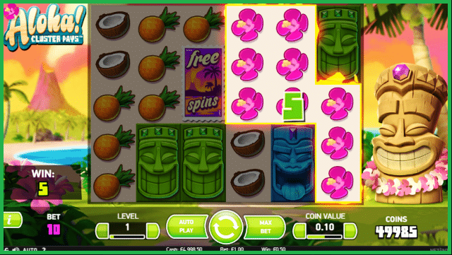 Aloha Cluster Pays Online Slot View