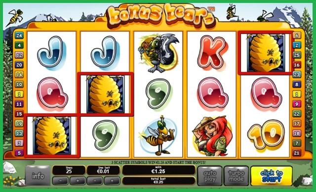 Bonus Bears Slot Machine Online View