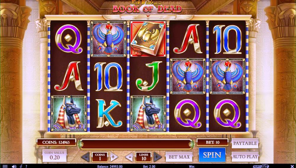 Book of Dead Best Online Slots Game View