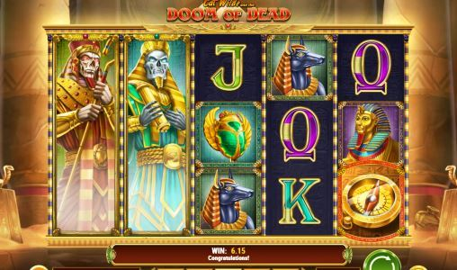 Cat Wilde and the Doom of Dead Slot Machine Screen View