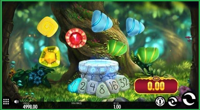 Well of Wonders Slot Machine Game View