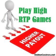 Play High RTP Casino Games Illustration