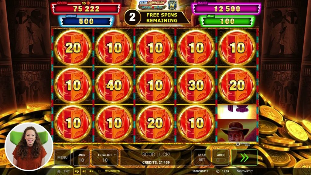 Cash Connection™ – Book of Ra™ Online Slot