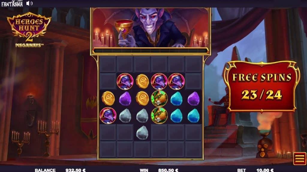 Heroes Hunt 2 Online Slot